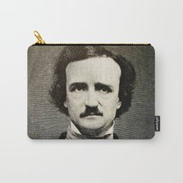 Edgar Allan Poe Engraving Carry-All Pouch