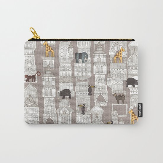 urban jungle pebble Carry-All Pouch