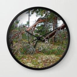 100 KM To Lapand Wall Clock