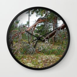 100 KM To Lapand Wall Clock