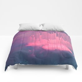 Sweet Stormy Glitches Comforters