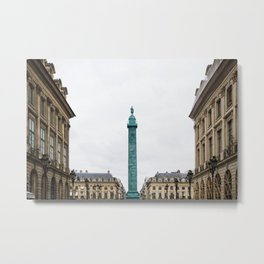 Place Vendôme Metal Print