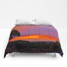 Smoky Sunset Bay Comforters