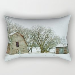 The Old Homestead Rectangular Pillow