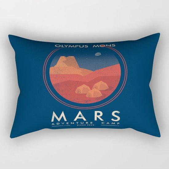 Mars Camp Rectangular Pillow
