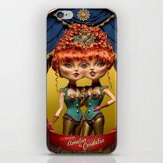Amelia & Cordela iPhone & iPod Skin