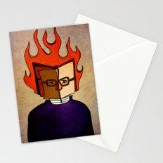 Prophets of Fiction - Ray Bradbury /Fahrenheit 451 Stationery Cards