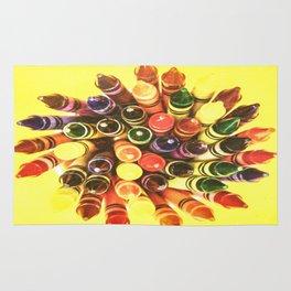 Crayon Love: Crayon Bouquet Rug