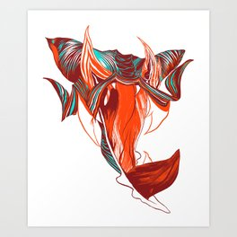 GOGO LOCO Art Print