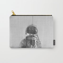 The Space Beyond B&W Astronaut Carry-All Pouch