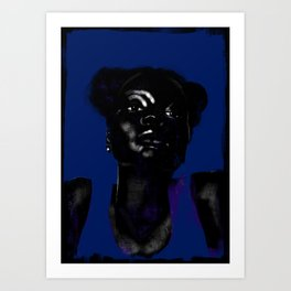 Black Moon Magic Art Print