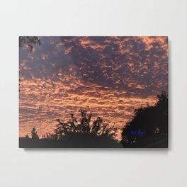 Atmospherics Number 2: Sunset from Costco San Dimas Metal Print
