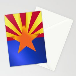 Arizona State Flag Gloss Stationery Cards