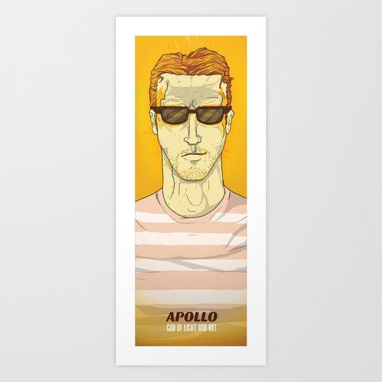 APOLLO Art Print