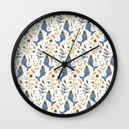 Magic Fish Wall Clock