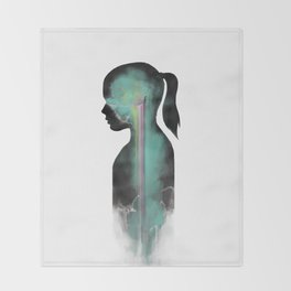 Silhouette Throw Blanket