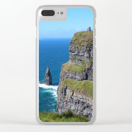 Over the Castle on the Hill Clear iPhone Case