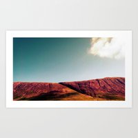 fault Art Prints featuring fault. by zenitt