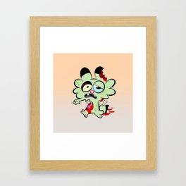 Zombie Brume Framed Art Print