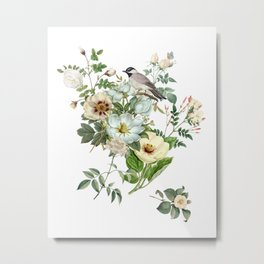 WHITE BIRD Metal Print