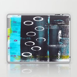 Abstract with Circles Laptop & iPad Skin