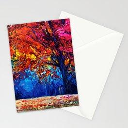 Tardis Tree Art Blossom Stationery Cards
