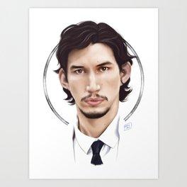 Adam Art Print