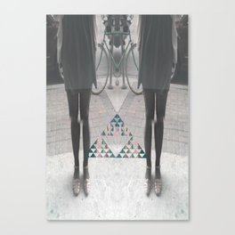 """Dizygotic & Disjointed"" Canvas Print"