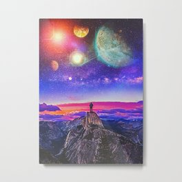 Whatevers Out There Metal Print