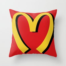 McDonald's MOSCHINO Throw Pillow