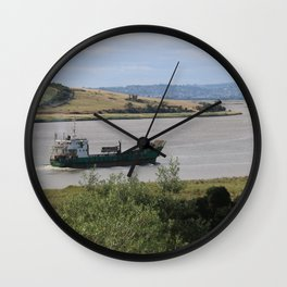 Ship into Launceston Docks* Wall Clock