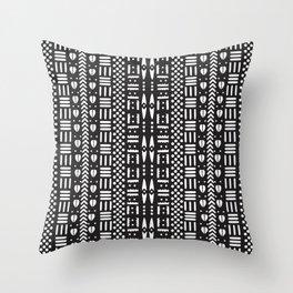 Bogolan Cloth Throw Pillow