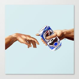 The Creation of Frat-am Canvas Print