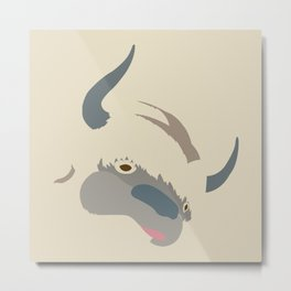 Cute Appa Metal Print