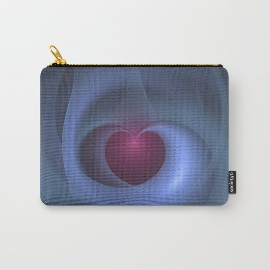 Take Care of My Heart Fractal Carry-All Pouch