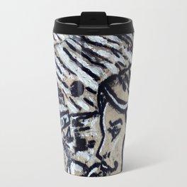 TEL AVIV JAFFA STONE POP ART Travel Mug