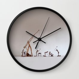 BoneFree's Factory Wall Clock