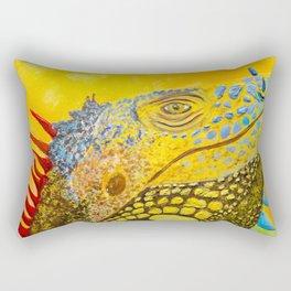 Basking in the Creamsicle Sunshine Rectangular Pillow