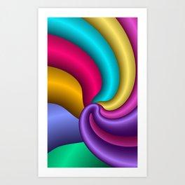 fractal geometry -108 Art Print