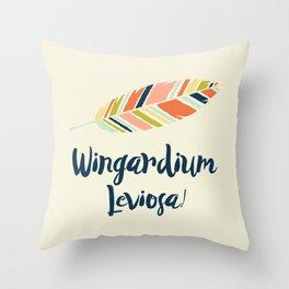 Wingardium leviosa! Throw Pillow