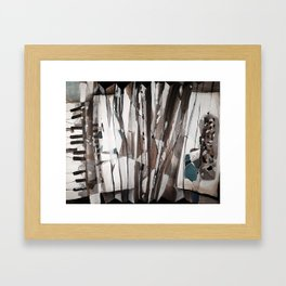 Accordion Framed Art Print