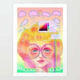Program Error Art Print