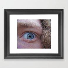 Take a Swim Framed Art Print
