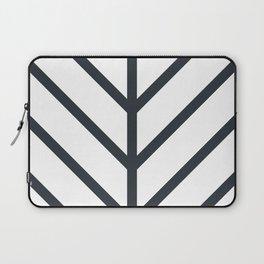 Leaf White Laptop Sleeve