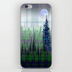 Plaid Forest iPhone & iPod Skin