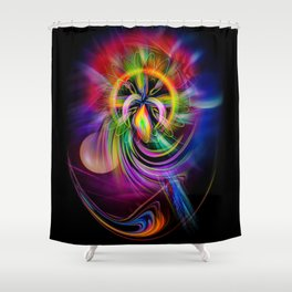 Abstract Perfection 60 Shower Curtain