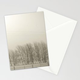 Winter 4 Stationery Cards