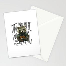 My Rocket Raccoon Stationery Cards