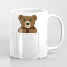 Pocket Bear Partner Coffee Mug