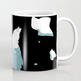 Swimming Polar-Bear with icebergs (global warming) Coffee Mug